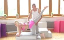 Vanessa Hell fucking her yoga instructor