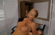Great looking babe Nicole Aniston fucks with student