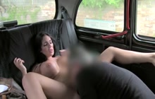 Emily B fucks with taxi driver