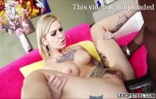 Kleio Valentien's Interracial Anal Fun